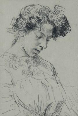 Augustus John, OM RA (1878-1961)Estella Cerutti -