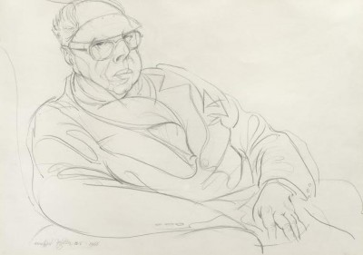 Michael Ayrton (1921-1975)Portrait of Percy Wyndham Lewis -