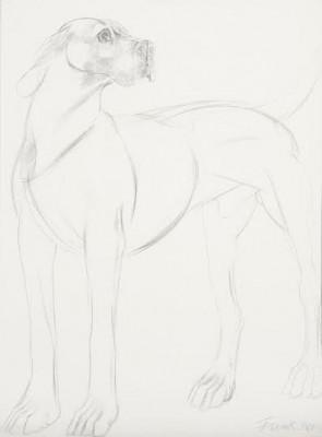 Dame Elisabeth Frink, CH RA (1930-1993)Standing Dog -