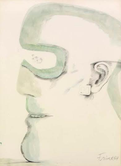 Dame Elisabeth Frink, CH RA (1930-1993), Goggle Head