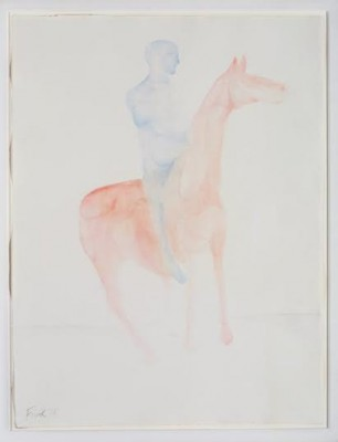 Dame Elisabeth Frink, CH RA (1930-1993)Untitled (Man on Horse) -