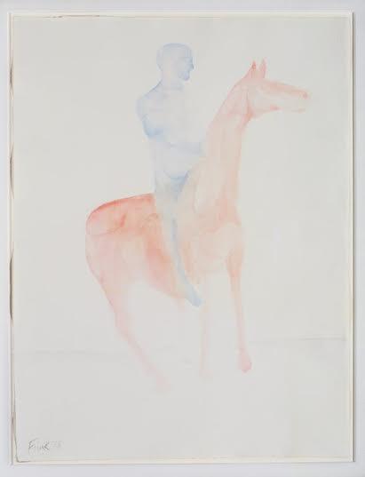 Dame Elisabeth Frink, CH RA (1930-1993), Untitled (Man on Horse)