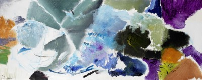 Ivon Hitchens (1893-1979)Foliage by Water, No. 5 -