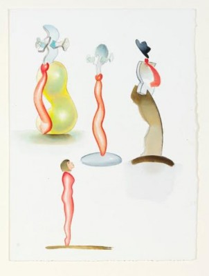 Allen Jones, RA (b. 1937)Studies for Glass Sculpture -