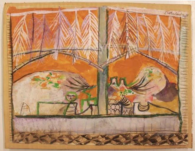 Graham Sutherland, OM (1903-1980), Landscape and Terrace