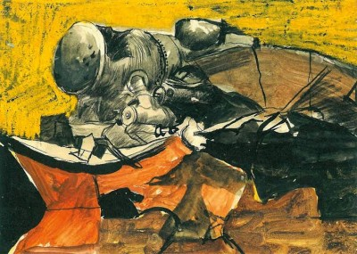 Graham Sutherland, OM (1903-1980)Marshalling Yards Trappes -