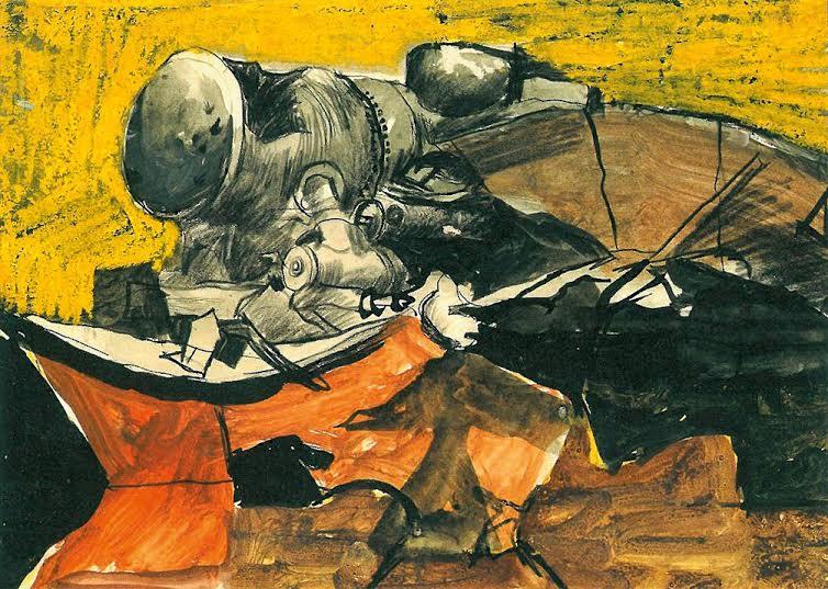 Graham Sutherland, OM (1903-1980), Marshalling Yards Trappes
