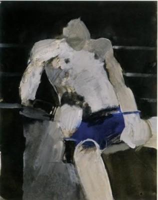 Keith Vaughan (1912-1977)Boxer -