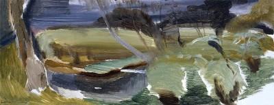 Ivon Hitchens (1893-1979)Stream at Burton -