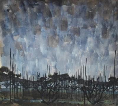 Alan Reynolds (1926-2014)A Little Landscape, Winter -