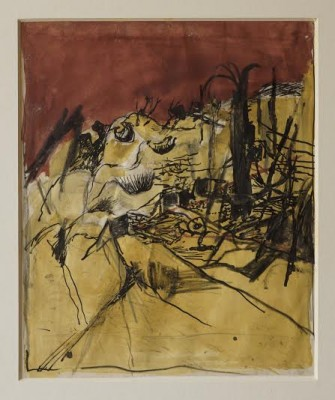 Graham Sutherland, OM (1903-1980)Flying Bomb Depot, The Caves, St.-Leu-d'Esserent -
