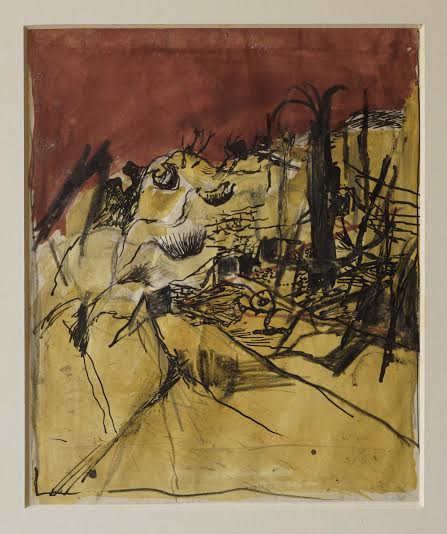 Graham Sutherland, OM (1903-1980), Flying Bomb Depot, The Caves, St.-Leu-d'Esserent