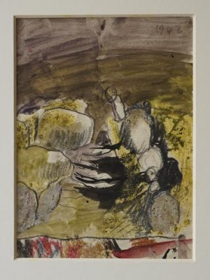 Graham Sutherland, OM (1903-1980)Landscape with Rocks -