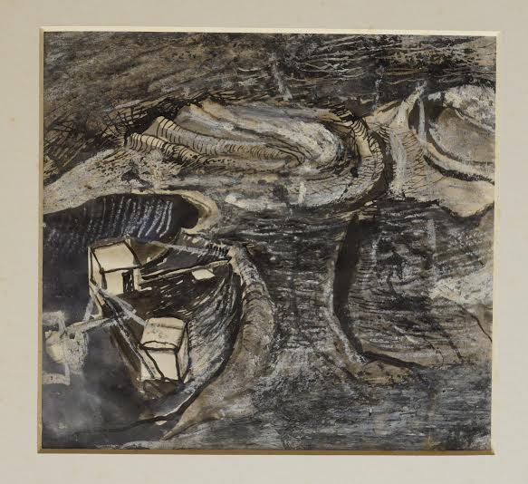Graham Sutherland, OM (1903-1980), Limestone Quarry, Worked Terraces