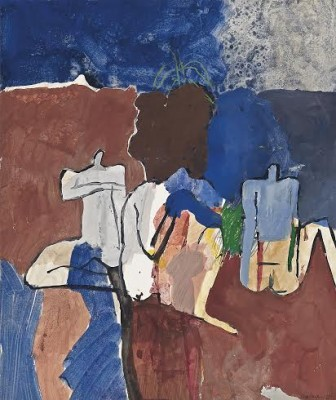 Keith Vaughan (1912-1977)Bathers by the Reservoir, Marrakesh -