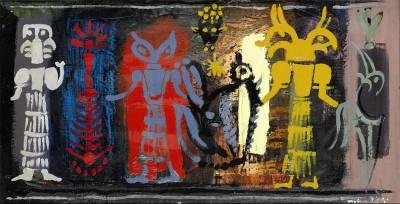John Piper, CH (1903-1992)Variations on Ancient Seals, VI -