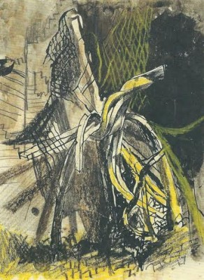 Graham Sutherland, OM (1903-1980)City of London: Twisted Girders -