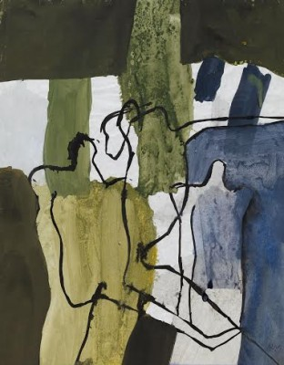 Keith Vaughan (1912-1977)Figures and Trees -