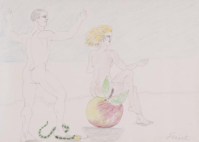 Dame Elisabeth Frink, CH RA (1930-1993)Adam and Eve -