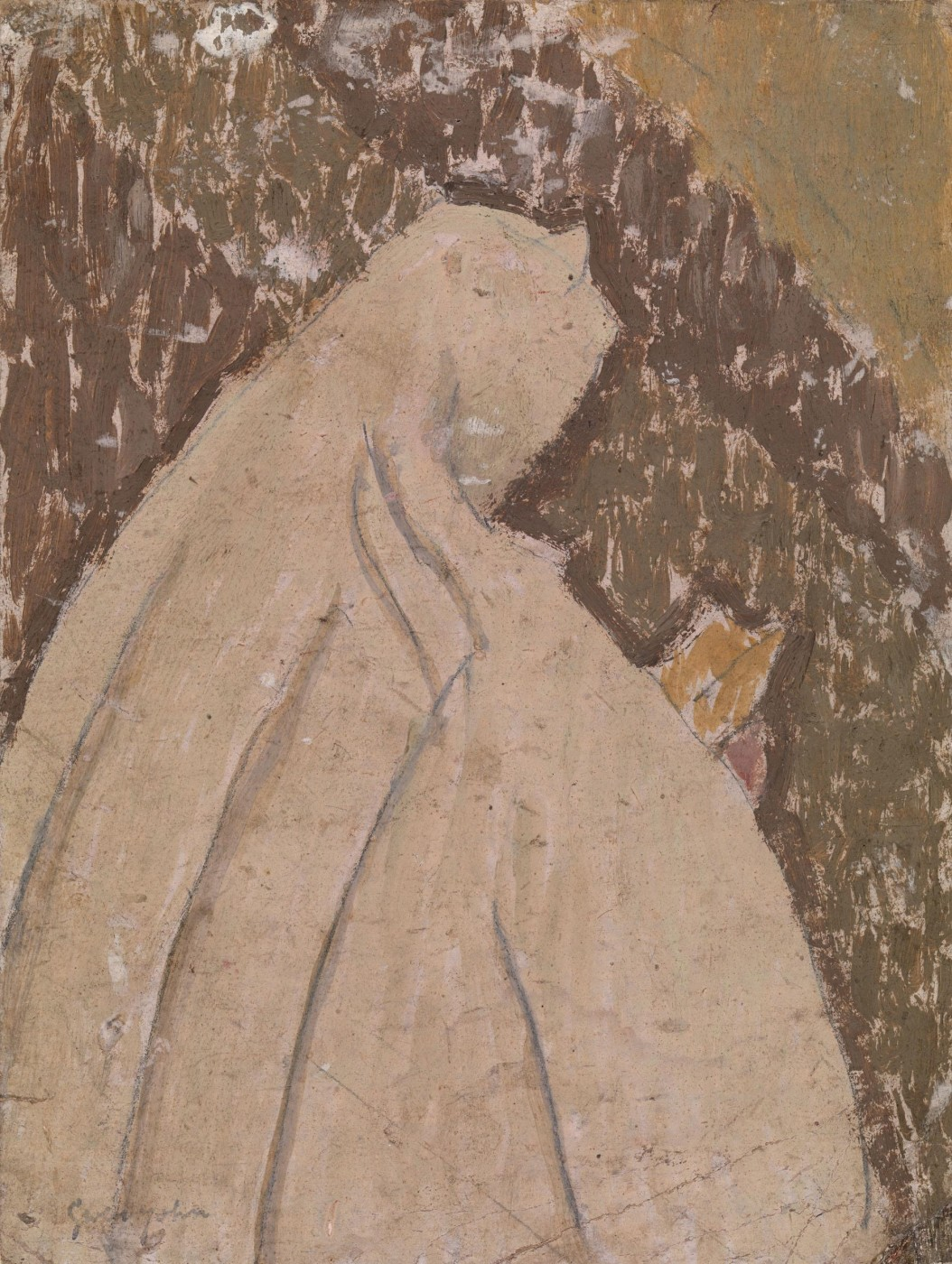 Gwen John (1876-1939), Nun Holding a Prayer Book