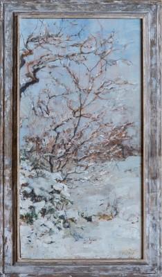 Emily Patrick (b. 1959)Snowscene -