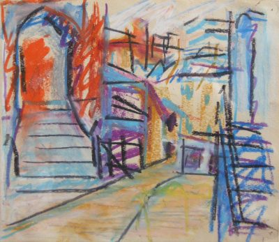 Frank Auerbach (b. 1931)To the Studios -