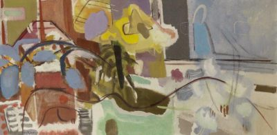 Ivon Hitchens (1893-1979)London Painting -