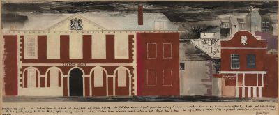 John Piper, CH (1903-1992)The Quay, Exeter -