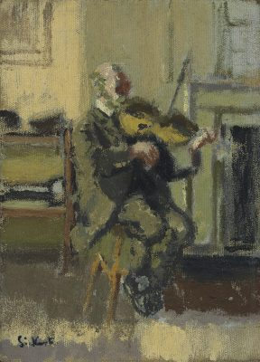 Walter Richard Sickert, RA (1860-1942)Old Heffel of Rowton House -