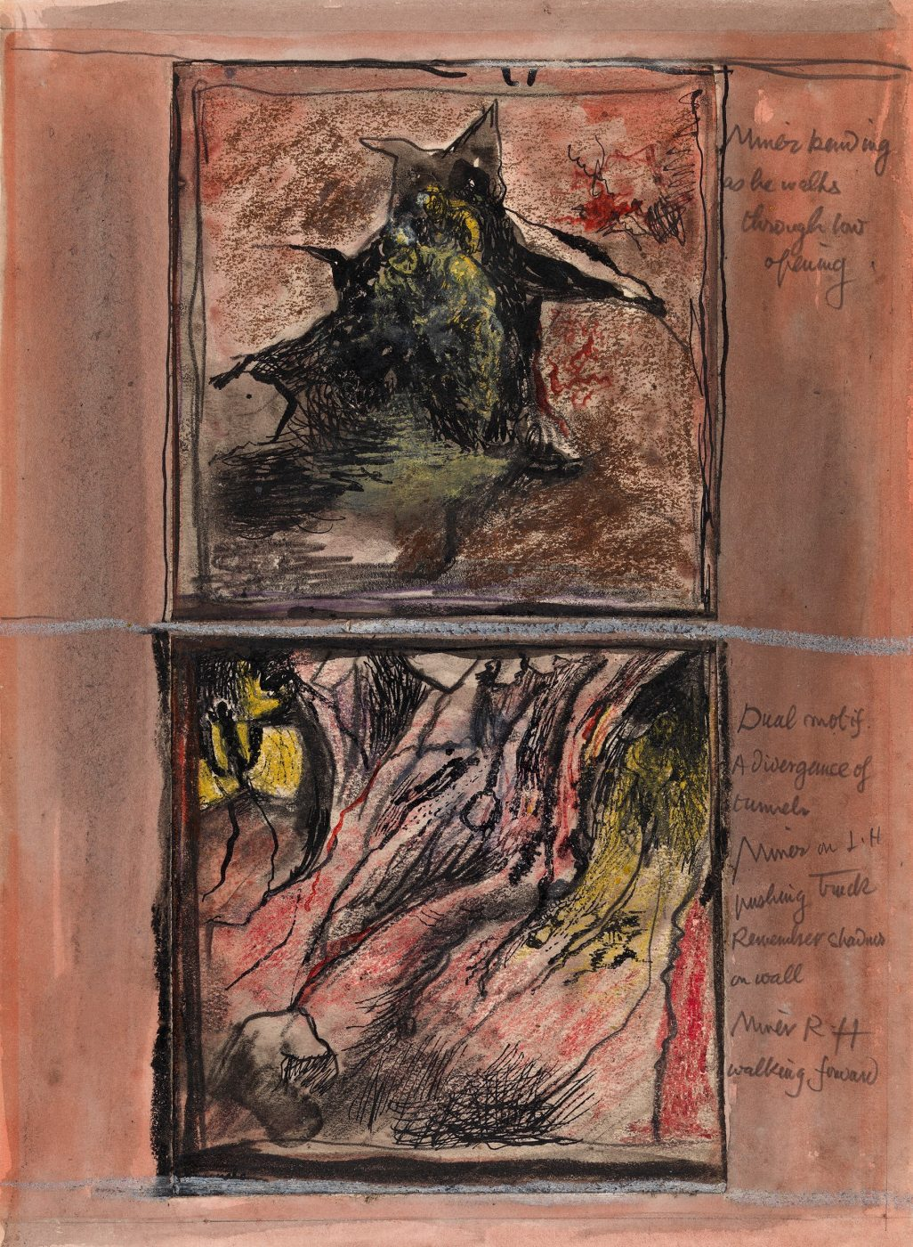 Graham Sutherland, OM (1903-1980), Two Mining Subjects