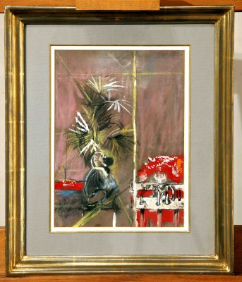 Graham Sutherland, OM (1903-1980)Monkey and Machine -