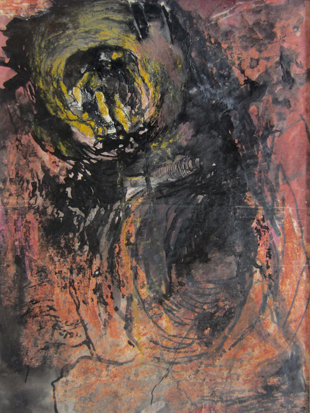 Graham Sutherland, OM (1903-1980), Study: Tin Mine: Miner Approaching