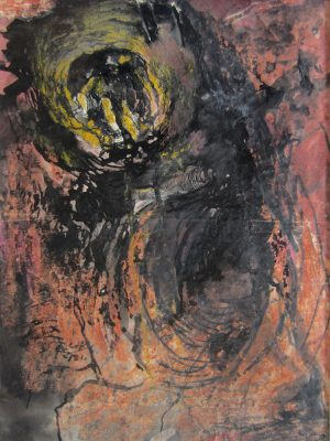 Graham Sutherland, OM (1903-1980)Study: Tin Mine: Miner Approaching -