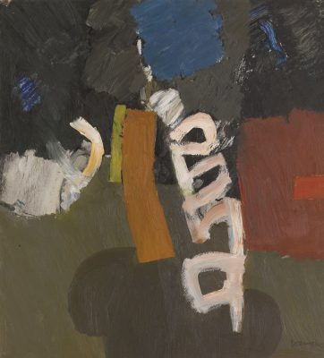 Keith Vaughan (1912-1977)Orange and Red -