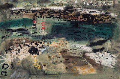 John Piper, CH (1903-1992)Portsall -