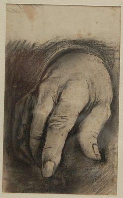 Graham Sutherland, OM (1903-1980)Sir Winston Churchill (study for right hand) -