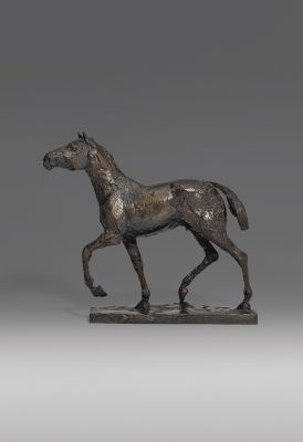 Dame Elisabeth Frink, CH RA (1930-1993)Horse Maquette -