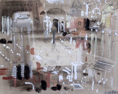 John Piper, CH (1903-1992)The Forum, Rome -