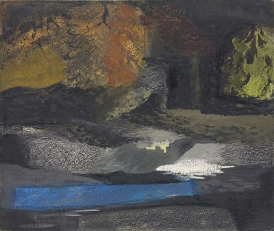 John Piper (1903-1992)Welsh Landscape, Denbigh -
