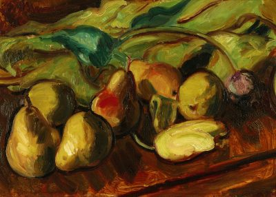 Matthew Smith (1879-1959)Still Life of Pears and Tulips -
