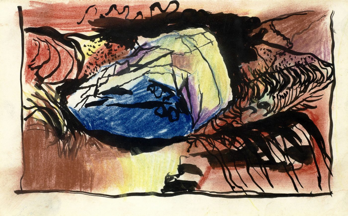 Graham Sutherland, OM (1903-1980), Small Boulder