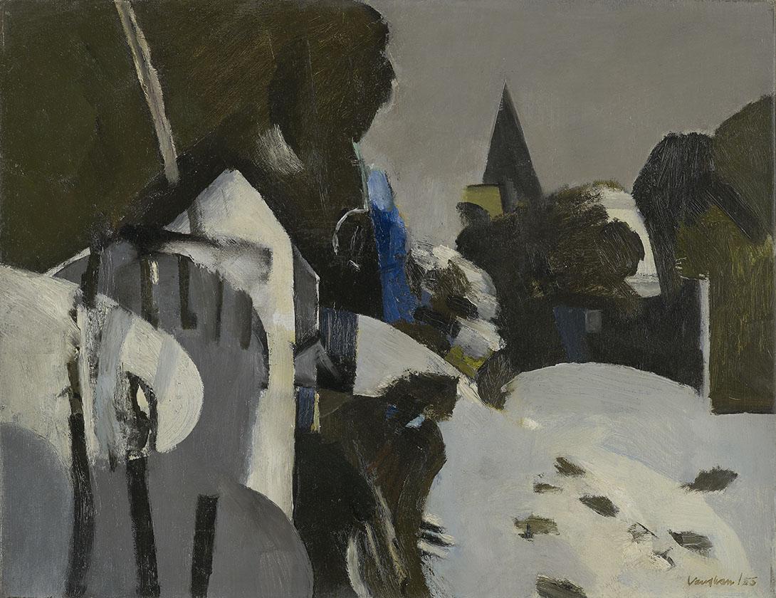 Keith Vaughan (1912-1977), Village Under Snow