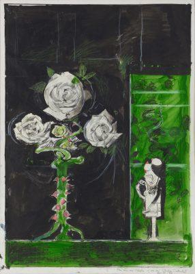 Graham Sutherland, OM (1903-1980)Roses -