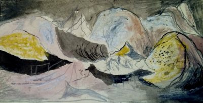 Graham Sutherland, OM (1903-1980)Study: Open Cast Coal Production -