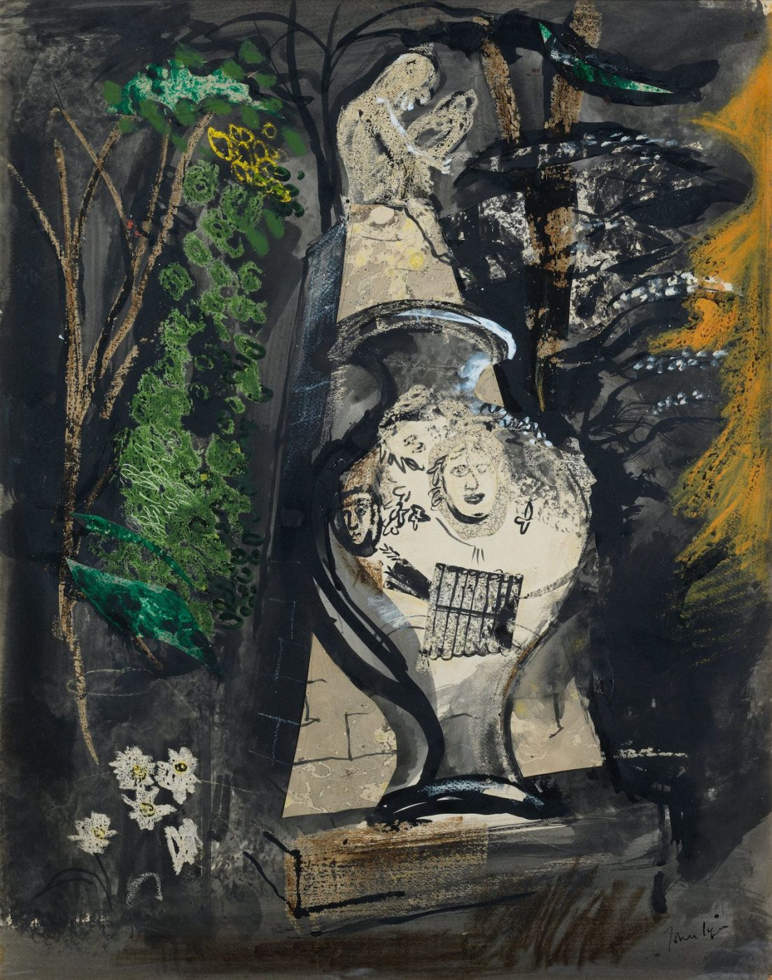 John Piper, CH (1903-1992), The Congreve Monument, Stowe