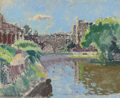 Walter Richard Sickert, RA (1860-1942)Pulteney Bridge, Bath -