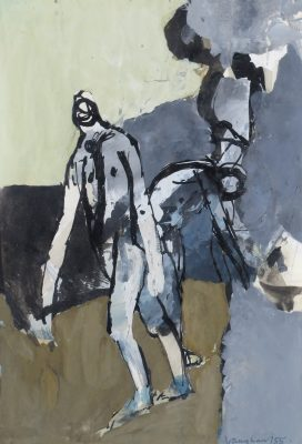 Keith Vaughan (1912-1977)Bathers by a Cliff -