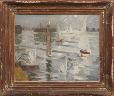 Julian Trevelyan (1910-1988)The Regatta -