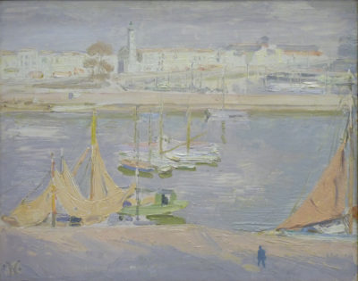 Sir William Nicholson (1872-1949)The Harbour, La Rochelle -