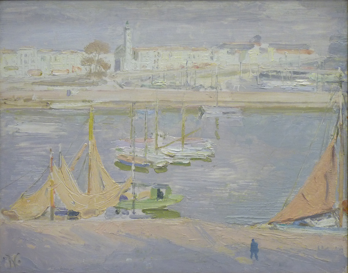 Sir William Nicholson (1872-1949), The Harbour, La Rochelle